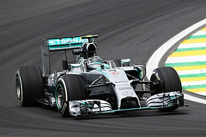 Brazilian GP practice 1 results: Rosberg leads Hamilton