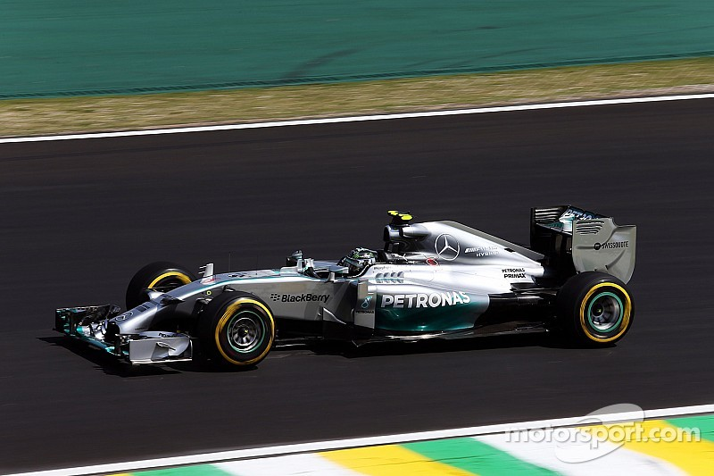 Brazilian GP practice 3 results: Rosberg in command