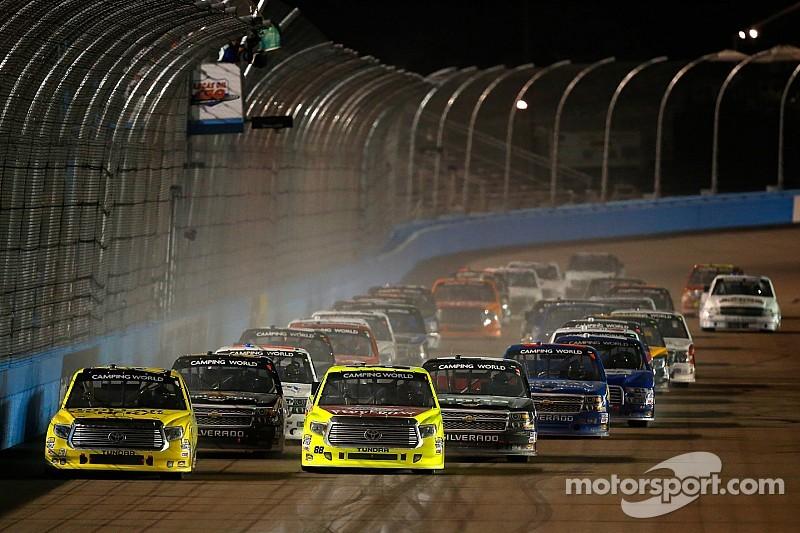 Erik Jones repeats in Phoenix truck race as second power failure halts action