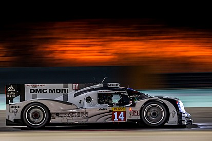 Porsche tops charts in first ever night practice in Bahrain