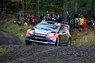 Kubica tames the welsh forests