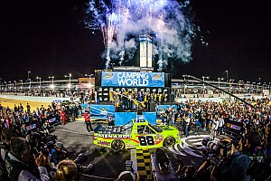 NASCAR Truck Race report Champions are crowned at Homestead