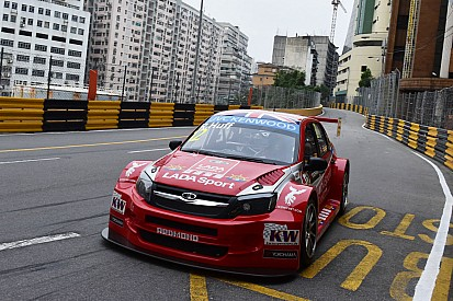 Rob Huff sets up potential podium for LADA Sport on streets of Macau