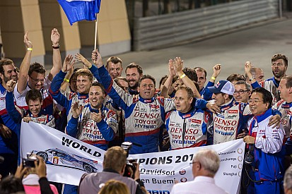 Toyota Racing takes drivers' title and victory