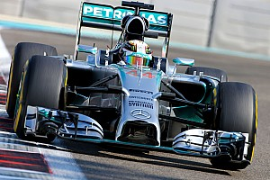 Formula 1 Practice report Hamilton quickest in Abu Dhabi as title showdown begins
