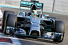Hamilton quickest in Abu Dhabi as title showdown begins