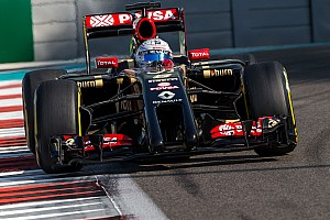 Formula 1 Race report Lotus' Grosjean completes the final race of the 2014 season in 13th at Yas Marina
