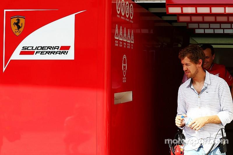 """Sebastiano Vetteli"" gets up to speed with life at Ferrari"