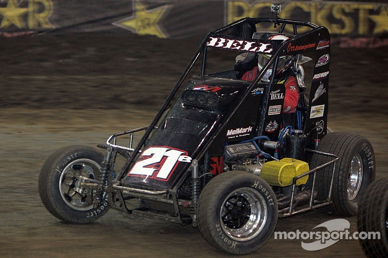 Christopher Bell hungry on Turkey Night