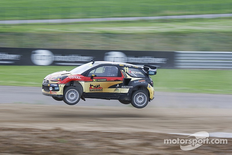 Solberg leads in Argentina