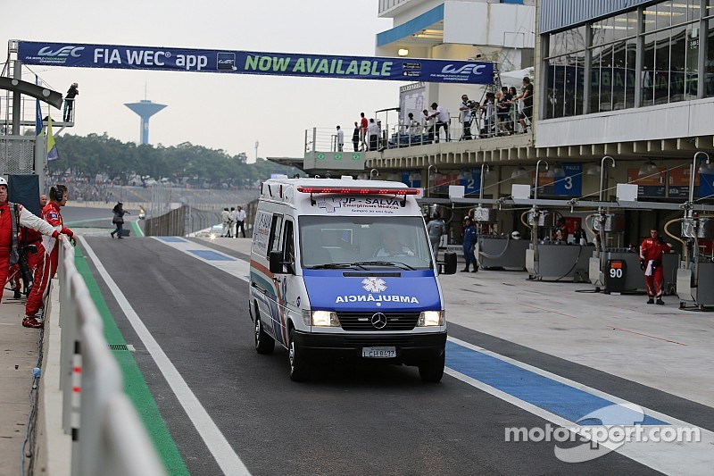 Webber and Cressoni to spend night in local hospital
