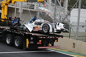 WEC Breaking news Webber diagnosed with concussion: