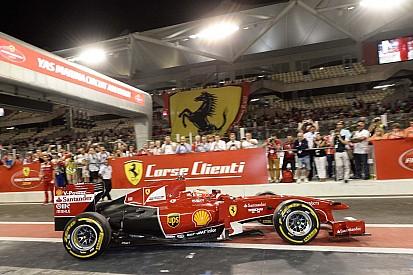 Ferrari drivers awarded at Ferrari World