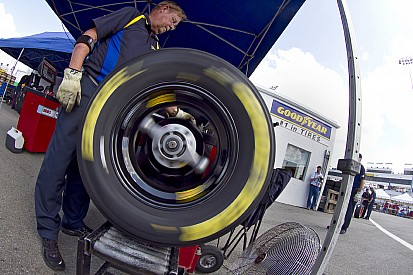 Testing begins for Goodyear at Charlotte