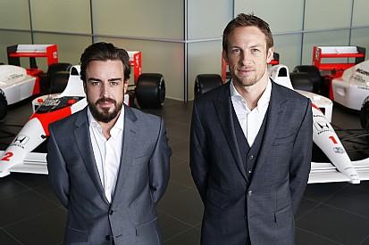 Alonso, Button finally confirmed as McLaren's race drivers