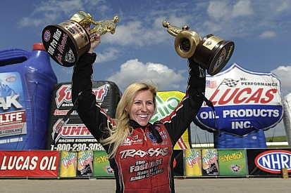 Seven questions for NHRA driver Courtney Force