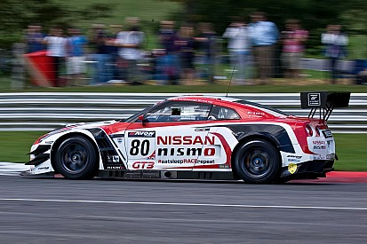 Sir Chris Hoy accelerates along the road to Le Mans with Nissan