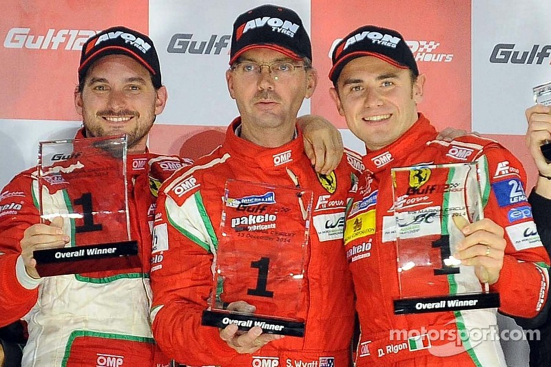 Victory for AF Corse in the Gulf 12 Hours