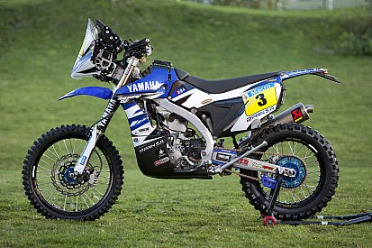 Yamaha's all-new 2015 WR450F rally gears up for the Dakar