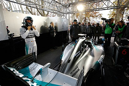 Mercedes to test 2015 car in January - Wolff
