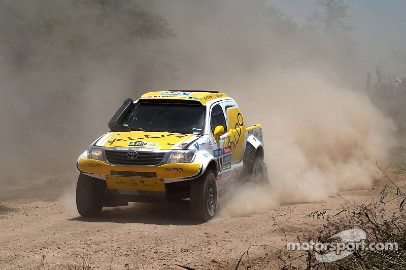 ALDO Racing Team moves up 32 spots in Day 1