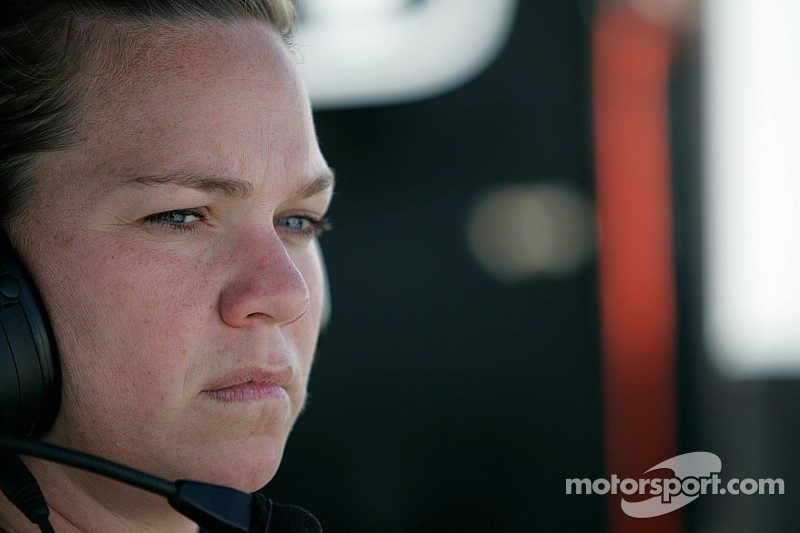 Sarah Fisher getting back behind the wheel