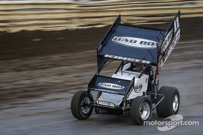 steve kinser unretires long enough to win winter heat feature