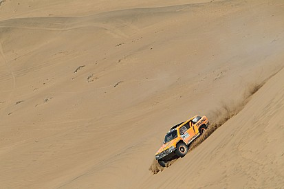 The momentum returns for Robby Gordon in Dakar Rally