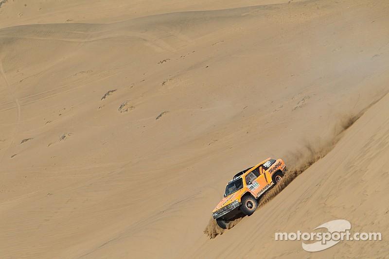The momentum returns for Robby Gordon in Dakar Rally