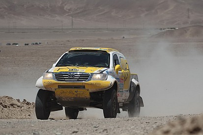 ALDO Racing best finish at 35th in Stage 5 of the Dakar