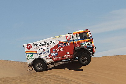 Newsletter Instaforex Loprais Team: Seventh stage Iquique – Marathon Bivouac