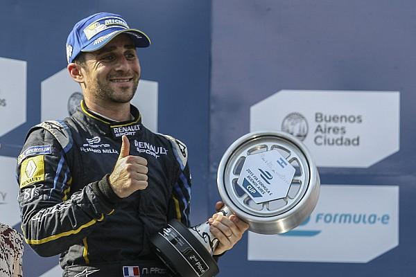Formula E Nicolas Prost clinches a podium finish for e.dams Renault