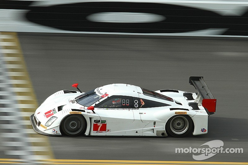 Rain slows final day of Roar Before the Daytona 24H testing