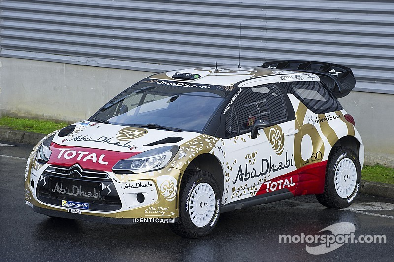 Citroën: New livery for the DS 3 WRC