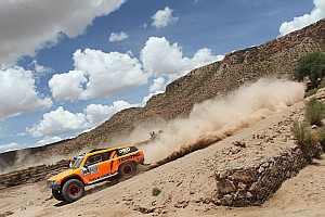 Dakar Race report Robby Gordon finishes ninth in stage 12 of Dakar Rally