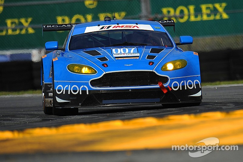 007 TRG-Aston Martin Racing takes historic pole at Daytona 24H