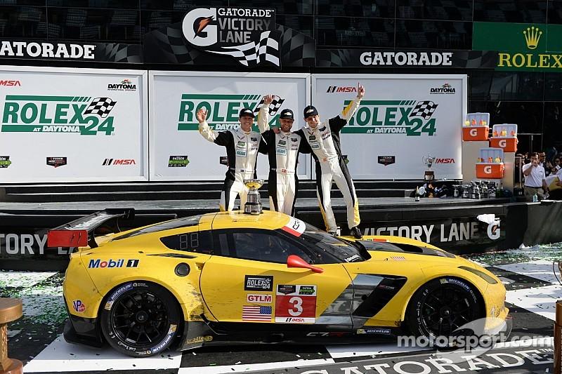Rolex 24: Corvette Racing celebrates hard-fought LMGT victory