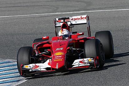 Ferrari: First day of testing in Jerez
