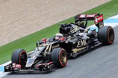Maldonado pleased with solid first day for new Lotus E23