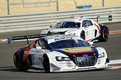 Bonanomi and Salaquarda with I.S.R. in the Blancpain GT Series