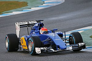 Formula 1 Breaking news Jerez Day 3 testing results: Nasr leads the way for Sauber