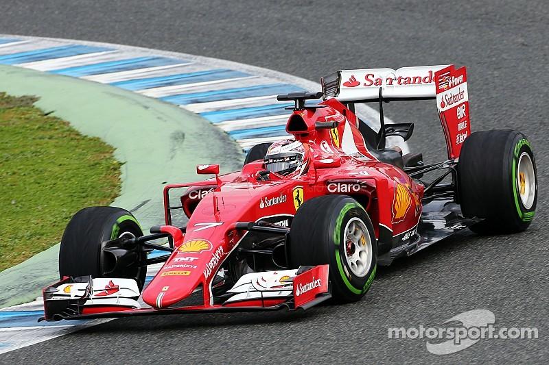 "Raikkonen: New Ferrari is better ""where we had difficulties"""
