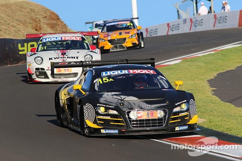 Audi empire strikes back in Bathurst qualifying thriller