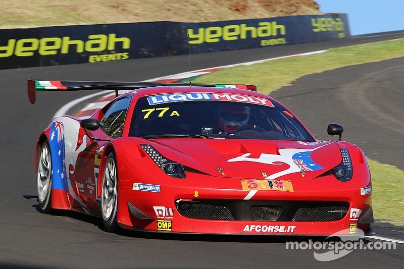AF Corse Ferrari leads Bathurst after three hours