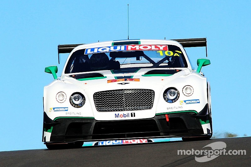 Bentley at Bathurst - three hours in