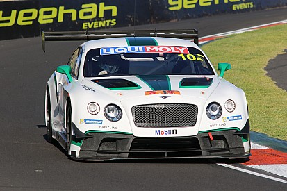 Bentley finishes fourth at Bathurst in tense finish