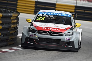 WTCC Breaking news Ma secures full-time Citroen WTCC drive for 2015
