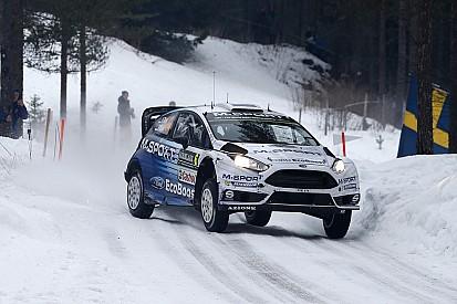 Solid start for M-Sport in Sweden