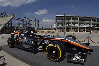 Force India viaja a Barcelona para sus pruebas