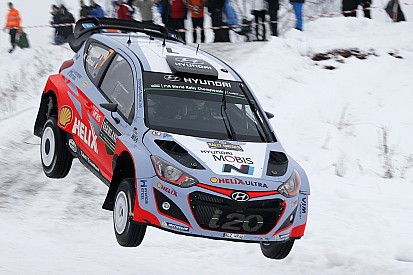 Hyundai Motorsport aims for Swedish podium as Neuville leads rally on penultimate day